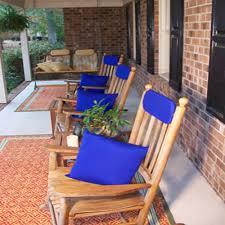 patio furniture pillows. Royal Blue Sunbrella Outdoor Throw Pillow (16 In. X 16 Patio Furniture Pillows