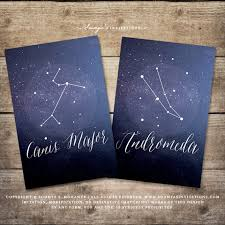 Galaxy Seating Chart Starry Night Celestial Wedding Decor Signs Star