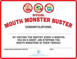 Kids Award Certificate Dental Checkup Award Certificate The Big Authority On Little Teeth