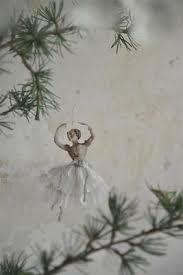 Jeanne Darc Living Ballerina Christbaumschmuck Papier