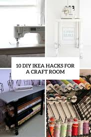 Contributor Craft Room Tour Jessica FrostBallas  Craft Storage Ikea Craft Room