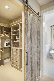 rustic and contemporary sliding barn door for bathroom reclaimed