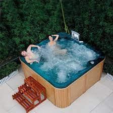 free standing style garden whirlpool