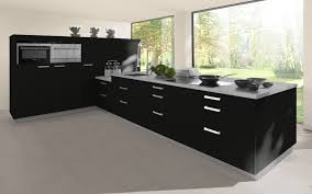 Black High Gloss Kitchen Doors High Gloss L Shaped Corner Cabinet Door Trade Kitchens For All