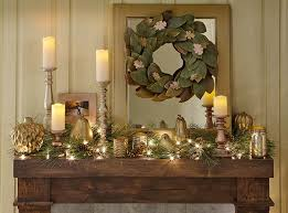 Good as Gold Holiday Candlesticks for Your Mantel