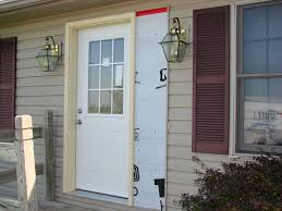 Nice Front Door Replacement Fiberglass Entry Door Wood Exterior - Exterior door glass replacement