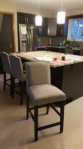 Target Threshlold Counter height stool Camelot in Grey $95