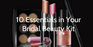 makeup you essentials kit brides to be gearing up for your wedding listen you may have the best
