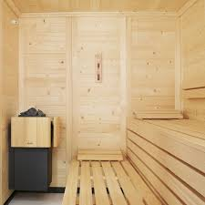 Sauna En Bois Massif EMPIRE Avec Poêle SOFTCLIMA PLURIS
