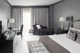 10 Beautiful Master Bedrooms With Desk Setups Gray Bedroom