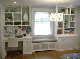 built in bookshelves around window with desk google search