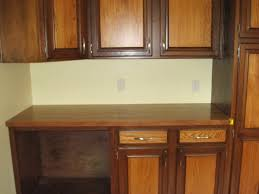 cupboard refacing restain kitchen cabinets before and after