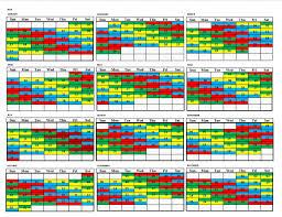 Calendar Shift Magdalene Project Org