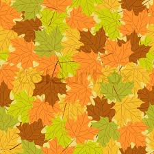 Fall Leaf Pattern Custom Maple Leaf Seamless Pattern Vector Seamless Background Autumn