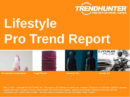 Marketing Report Classy Custom Lifestyle Trend Report Custom Lifestyle Market Research