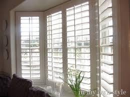 bay window blinds. 20 Best Bay Window Blinds Images On Pinterest Large Windows