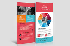 Corporate Event Rack Card Template By D | Design Bundles