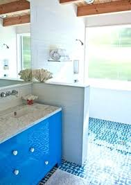 blue and white floor tiles bathroom tile victorian