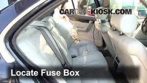 interior fuse box location bmw i bmw i l v locate interior fuse box and remove cover