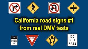 dmv sign test. Interesting Sign California DMV Road Sign Test Video  Part 1 Throughout Dmv U