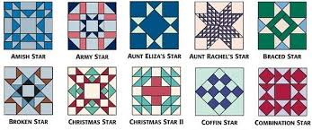 Star quilt-block patterns for an astronomical block challenge ... & 9-inch star blocks from 501 Rotary-Cut Quilt Blocks A Adamdwight.com
