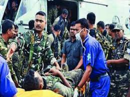 Security Personnel 26 Security Personnel Injured In Maoist Blasts Near