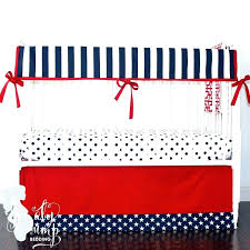 stars and stripes bedding set navy blue red stars stripes baby boy crib bedding and yellow