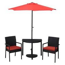 piece umbrella patio bistro set