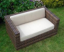 simple outdoor chair design. Image Of: Simple Outdoor Chair Cushion Designed From Rattan For Garden Furniture Arizona-2 Design E