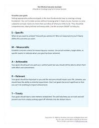Goal Setting Template Interesting Setting Smart Goals Template Lovely Goal Free Professional