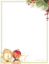 Free Word Stationery Templates Free Printable Stationary Letterhead Templates Christmas