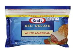 kraft american cheese slices.  Slices Deli Deluxe American Cheese Slices For Kraft