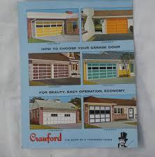 crawford garage doors1960s Garage Doors