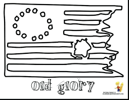 Usa Flag Coloring Page Coloring Book Page Intrabookclub