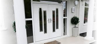 white double front door. UPVC Exterior Door | Carlisle \u0026 Dumfries World Group Property Improvement White Double Front B