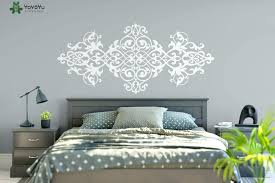 wall stickers designs vintage headboard wall decal baroque style design mandala flower vinyl wall stickers master