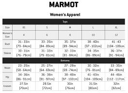 Marmot Ski Pants Size Chart The North Face Womens Size Chart North Face Womens Sizing Chart