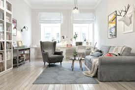 scandinavian living room lighting plantassite