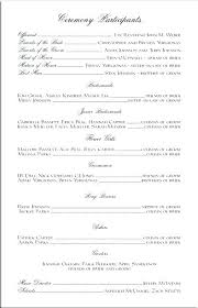 Catholic Wedding Ceremony Program Templates Wedding Ceremony Booklet Template Catholic