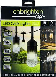 Enbrighten Cafe Lights 36 Feet