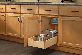 Amazon.com: Rev-A-Shelf - 4WDB-15 - Medium Wood Base Cabinet Pull-Out Drawer:  Home & Kitchen