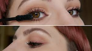 1 2f4 eye makeup looks natural glow add mascara melissavandijkmakeuptutorials png