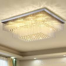dimmable crystal chandeliers modern design high end k9 chandelier led ceiling chandeliers lighting living room hotel villa lighting fixtures