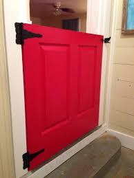 Dutch Door Baby Gate Dutch Door Half Door No More Baby Gate Dutchdoor Reddoor Diy