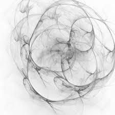 3 D のシュールなイラスト神聖な幾何学神秘的なサイケデリックなリラクゼーション