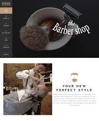 Barber Shop Website Barbershop Website Templates For Wordpress Inkthemes