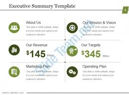 executive summery executive summary ppt executive summary template powerpoint show