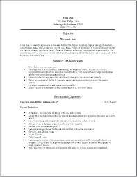 Diesel Mechanic Resumes Diesel Mechanic Resume Examples Engine Sample For Iti Socialum Co