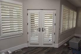 shutters for french doors sliding