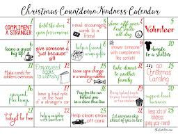 Luxury Christmas Countdown Calendar 16 Homemade Advent Printable ...